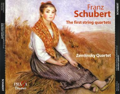 Zemlinsky Quartet - Franz Schubert: The First String Quartets (1-12) (2008) 4CD Box Set