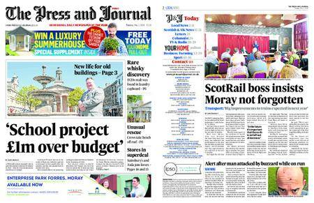 The Press and Journal Moray – May 01, 2018