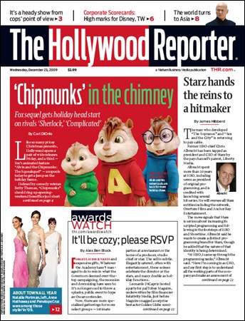 The Hollywood Reporter - 23 December 2009