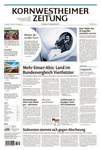 Kornwestheimer Zeitung - 17. September 2019