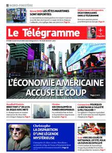 Le Télégramme Landerneau - Lesneven – 18 avril 2020