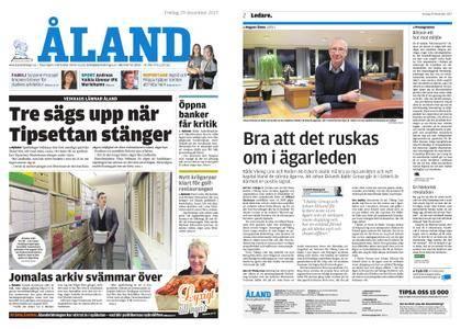 Ålandstidningen – 29 december 2017