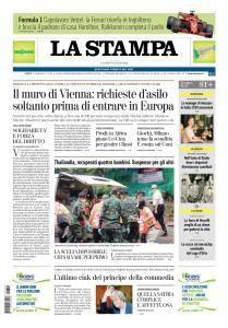 La Stampa Imperia e Sanremo - 9 Luglio 2018