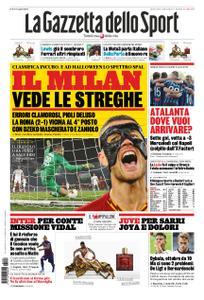 La Gazzetta dello Sport Roma – 28 ottobre 2019