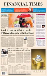 Financial Times Europe – 06 December 2019