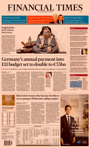Financial Times Europe – 28 October 2019