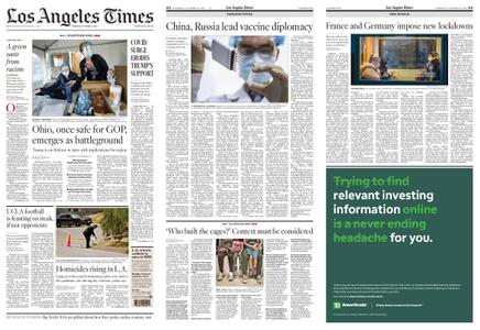 Los Angeles Times – October 29, 2020