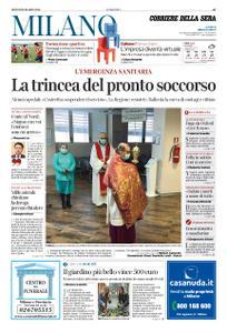 Corriere della Sera Milano – 26 marzo 2020