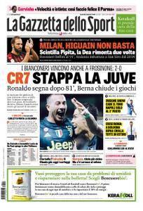 La Gazzetta dello Sport Roma – 24 settembre 2018