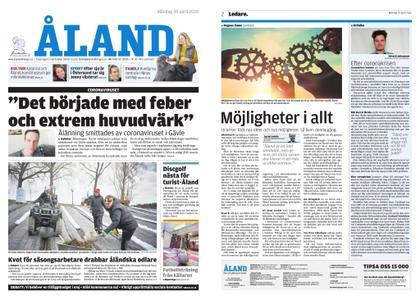 Ålandstidningen – 20 april 2020
