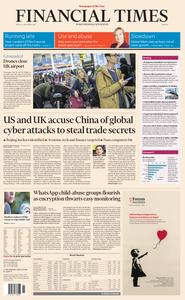 Financial Times Europe – 21 December 2018