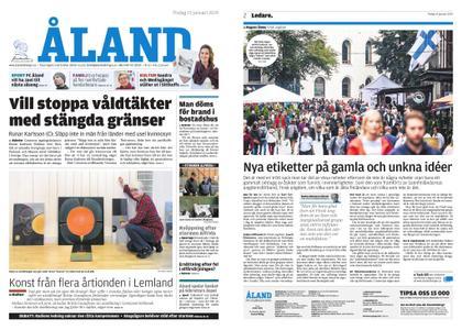 Ålandstidningen – 15 januari 2019