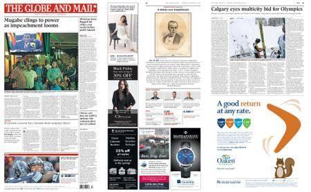 The Globe and Mail – November 20, 2017