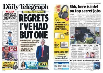 The Daily Telegraph (Sydney) – December 12, 2017