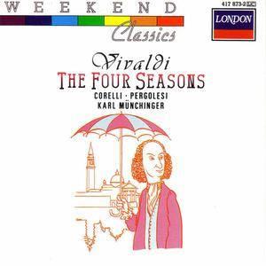 Stuttgart Chamber Orchestra - Weekend Classics: Vivaldi - The Four Seasons (1988) {Decca/London} **[RE-UP]**