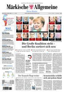 Märkische Allgemeine Dosse Kurier - 08. Februar 2018