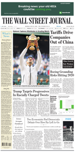 The Wall Street Journal – 15 July 2019