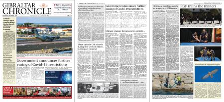 Gibraltar Chronicle – 13 March 2021