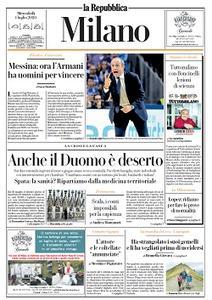 la Repubblica Milano - 1 Luglio 2020
