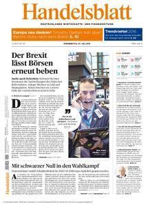 Handelsblatt - 07. Juli 2016
