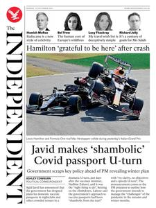 The Independent - 13 September 2021