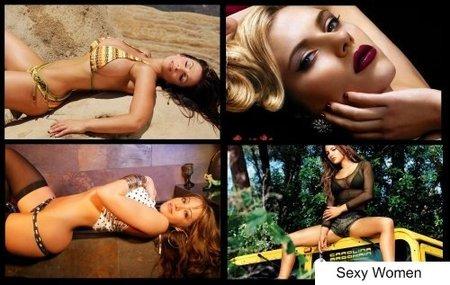 Hot & Sexy Women Widescreen HD Wallpapers #12