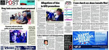 The Guam Daily Post – September 02, 2017