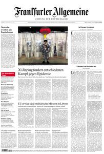 Frankfurter Allgemeine Zeitung F.A.Z. - 21. Januar 2020