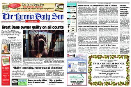 The Laconia Daily Sun – December 13, 2017