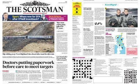 The Scotsman – January 23, 2018