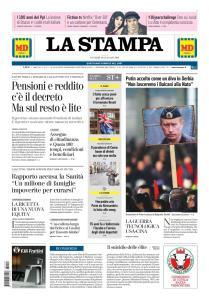 La Stampa Imperia e Sanremo - 18 Gennaio 2019