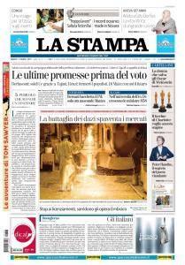 La Stampa Torino Provincia e Canavese - 3 Marzo 2018