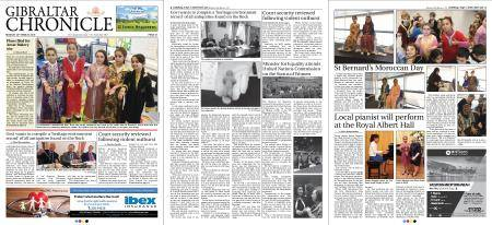 Gibraltar Chronicle – 26 March 2018