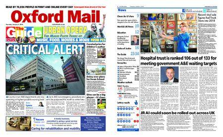 Oxford Mail – January 04, 2018