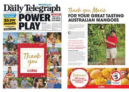 The Daily Telegraph (Sydney) – November 22, 2019