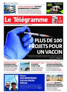 Le Télégramme Ouest Cornouaille – 14 mai 2020