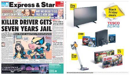 Express and Star City Edition – November 25, 2017
