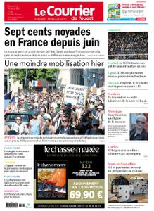 Le Courrier de l'Ouest Angers – 15 août 2021
