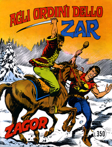Zagor 126 (Zenith Gigante 177) – Agli ordini dello Zar (Daim Press 1976-01)