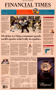 Financial Times UK – 14 August 2019