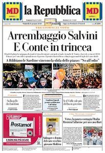 la Repubblica - 24 Gennaio 2020