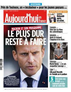 Aujourd'hui en France du Lundi 1er Octobre 2018