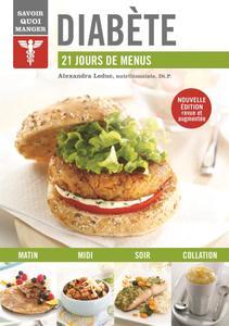 """Alexandra Leduc, """"Diabète : 21 jours de menus"""""""
