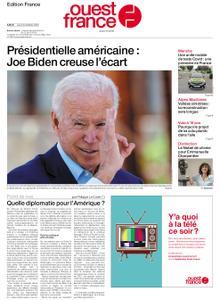 Ouest-France Édition France – 08 octobre 2020