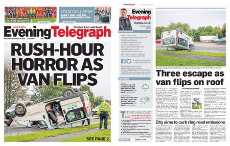 Evening Telegraph First Edition – September 25, 2019