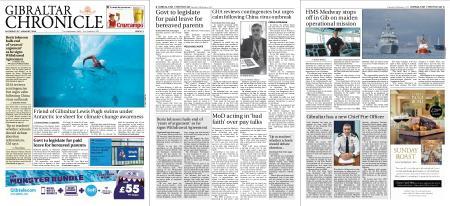 Gibraltar Chronicle – 25 January 2020
