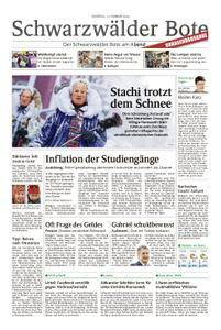 Schwarzwälder Bote Hechingen - 13. Februar 2018