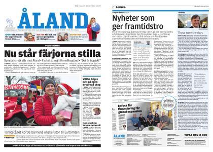 Ålandstidningen – 25 november 2019