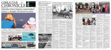 Gibraltar Chronicle – 16 August 2019