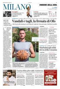 Corriere della Sera Milano - 18 Luglio 2018